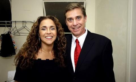 Carlos Mello apresentou show de Daniela Mercury