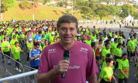 Carlos Mello apresenta eventos para o SESI SP